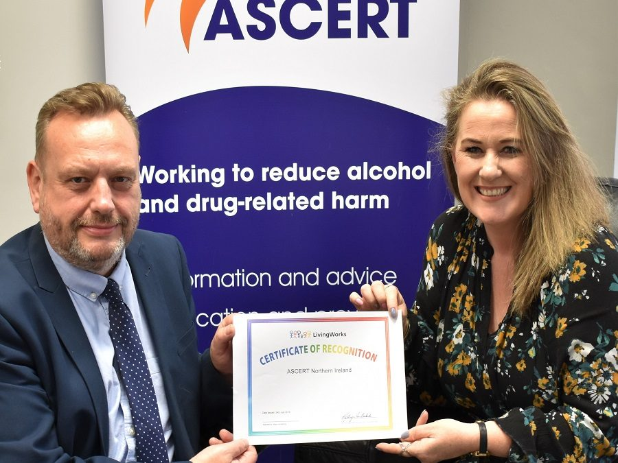 16 ASCERT Receives Recognition from Living Works